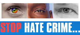 True vision stop hate crime...