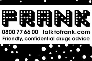 FRANK confidential friendly drug advice
