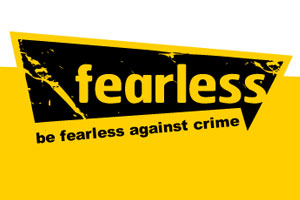 Be fearless against crime - Crime prevention site