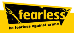 Fearless: be fearless against crime