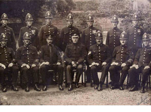 Old photo of Police Officers