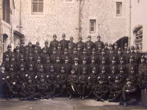 Old photo of Police Officers - 2