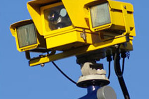Traffic yellow camera