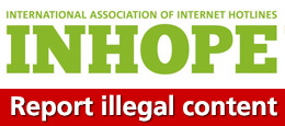 In hope: International association of internet hotline: Report illegal content