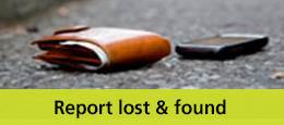 Wallet and phone in the road: Report lost or found