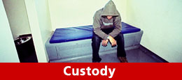Custody: advice and contact numbers