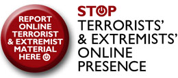 Stop Terrorists' & Extremists' online presence