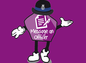 Message an officer