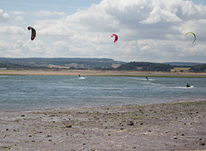 Exmouth Kite Surfing