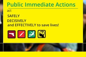Citizen AID, Public Immediate Actions, act, safety, decisively and effectively to save lives
