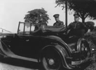 Cornwall's first police car