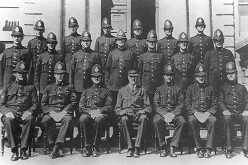 Penzance Borough Police in 1914