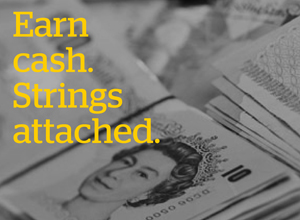 Earn cash strings attached - don't be a money mule