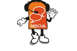 Web chat character