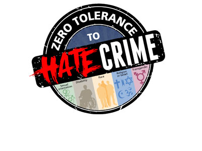 Zero-tolerance to hate crime