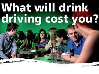 What will drink driving cost you