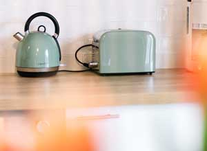 Kettle and a toaster